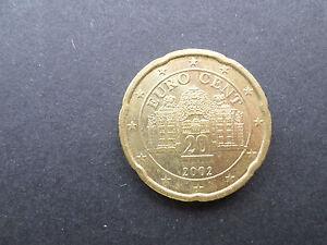 AUTRICHE - pièce 20 cts d' euro 2008 - TTB