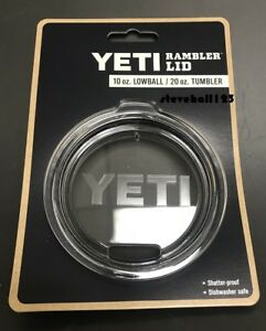 be2ab0e68ae Image is loading YETI-Rambler-Replacement-Authentic-Lid-20-oz-Tumbler-