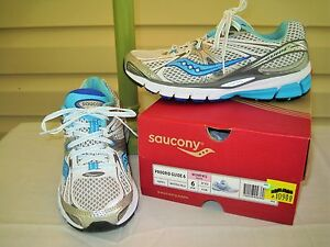 bianca Sneaker confezioneeac5d28c1f1511d513db14f24eb56870 in 6Nuovo Saucony donna Guide XwP80Okn