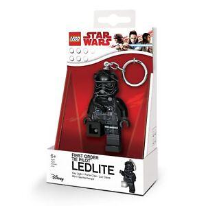 Premier-Ordre-Cravate-Pilote-Fighter-Lampe-Porte-Cle-Lego-Star-Wars-Episode-VIII