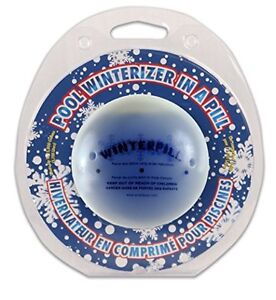 Seaklear Aquapill Winter Pill For Swimming Pools For Up To 15 000 Gal Ebay
