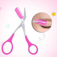 Bioaqua Scissors With Eyebrow Comb Makeup