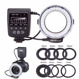 Meike-FC-100-Macro-Ring-Flash-Light-For-Canon-Nikon-Olympus-Panasonic-Pentax