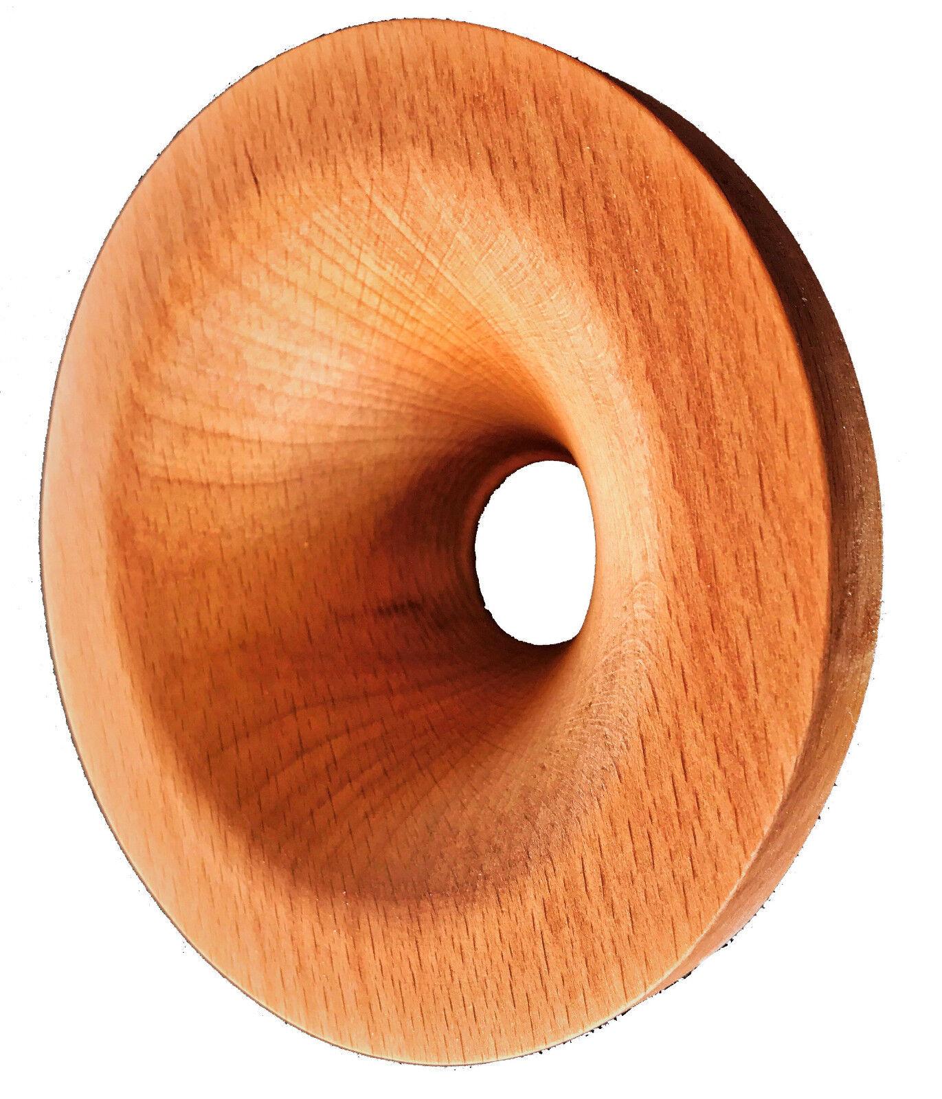 1 Paar Tractrix Holzhörner für 1.5  Hochtontreiber