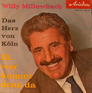 Willy-Millowitsch-Das-Herz-of-Cologne-7-034-Single-F1259