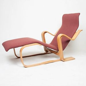 vintage original marcel breuer for knoll isokon chaise lounge chair ebay. Black Bedroom Furniture Sets. Home Design Ideas