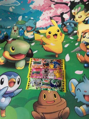 Pokemon SUN /& MOON bubblegum candy sweet from Japan UK SELLER