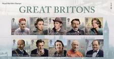 GB 2013 GREAT BRITONS PRESENTATION PACK No 483 MINT STAMP SET SG 3453-3462 # 483
