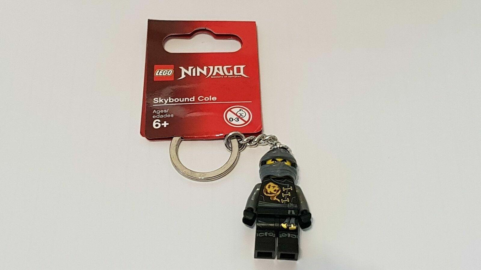 2016 - Ninjago Skybound Cole Keyring Brand New Lego 853538