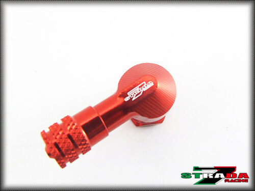 "Strada 7 83 Degree 8.3mm 0.357/"" Inch Valve Stems Ducati HYPERMOTARD 821 SP Red"