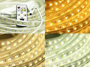 3-30M-CCT-2835-highpower-LED-flexibel-lichtband-Streifen-Farbeton-einstellbar