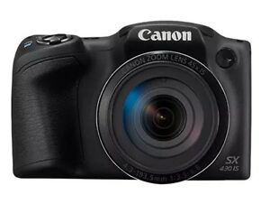 Canon-SX430-IS-Digital-Camera-Black-45x-Zoom-amp-16gb-SD-Card-amp-Camera-Case-Too