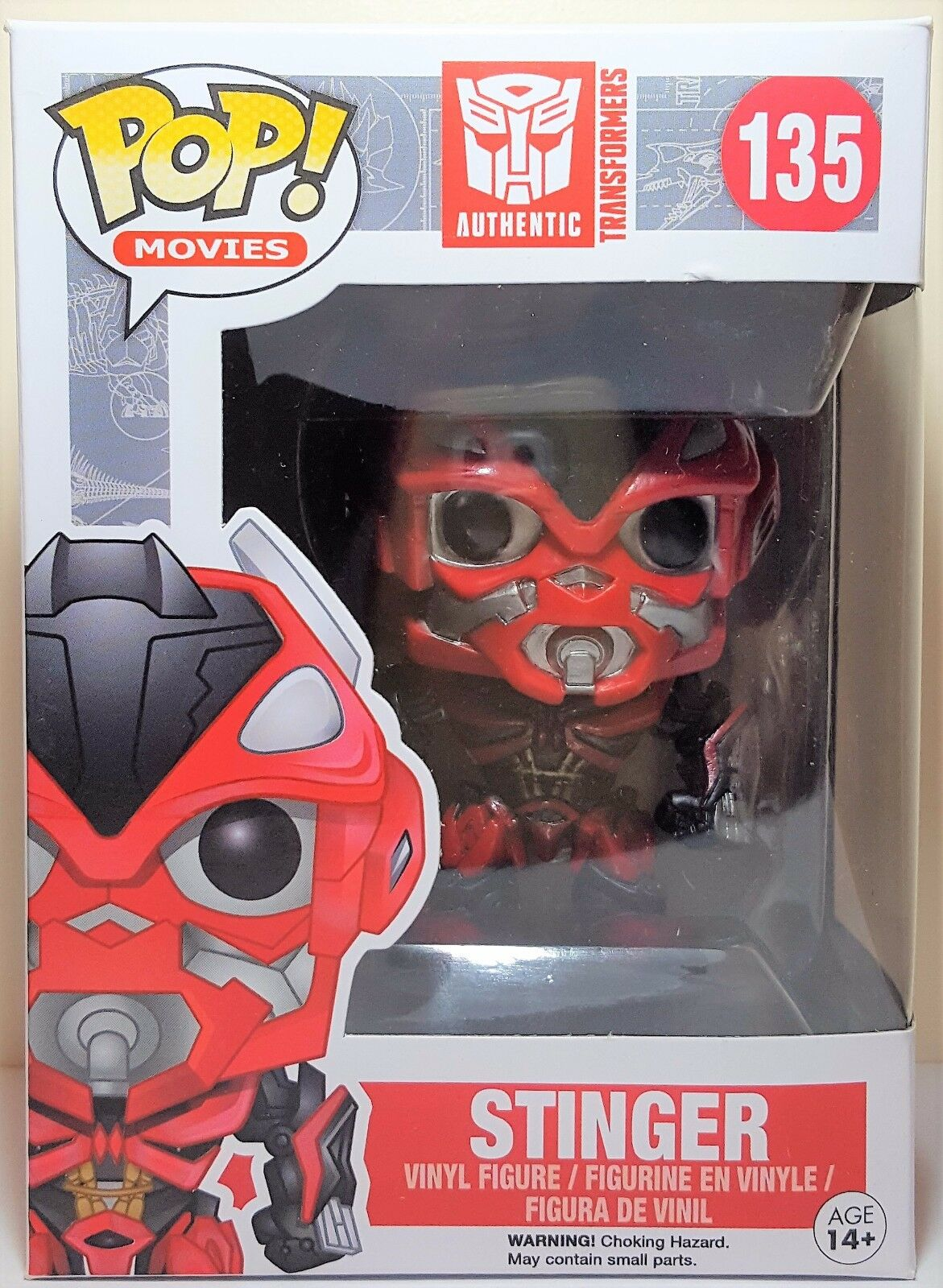 Funko Pop Stinger   135 Transformers Vinyl Figure Brand New