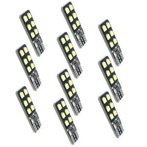 10-x-LED-12SMD-T10-Ampoule-Mini-Tableau-de-Bord-Coffre-Plafonnier