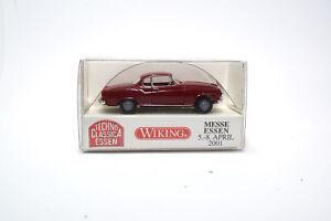 823-03-Wiking-Borgward-isabelle-Coupe-rojo-techno-Classica-2001-1-87