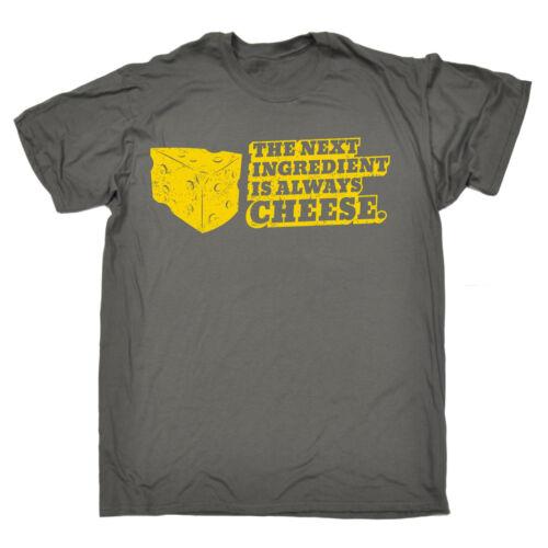 Il componente successivo è sempre formaggio T-shirt Agricoltore Chef Dairy regalo di compleanno