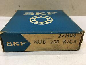 Skf, Cylindre De Roue/type: Nub 208 K/c3, 40x80x18/nouveau/neuf Dans Sa Boîte-lager / Typ: Nub 208 K/c3, 40x80x18 / Neu/ovp Fr-fr Afficher Le Titre D'origine Assurer IndéFiniment Une Apparence Nouvelle