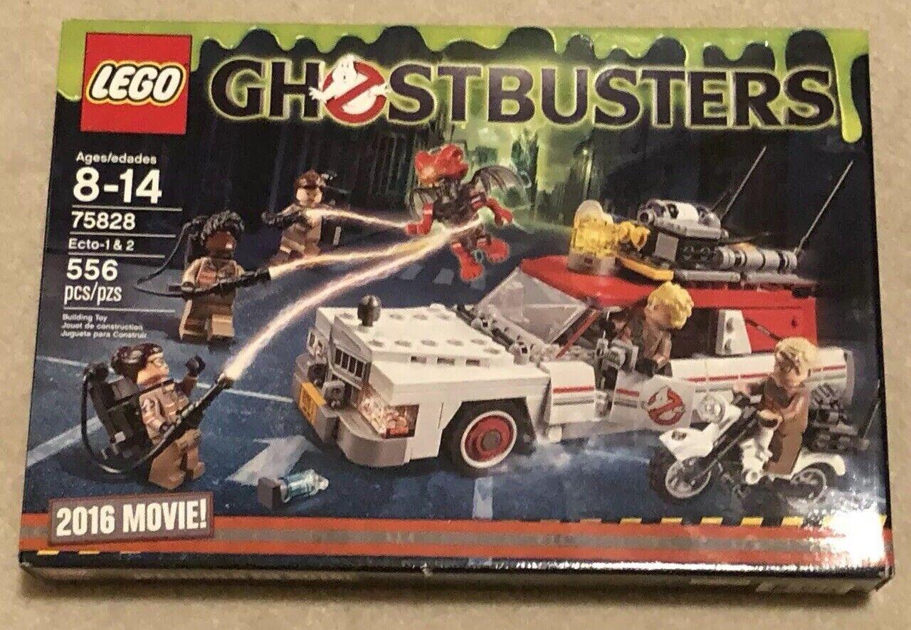 Used Lego Ghostbusters Ecto - 1 & 2 75828 Building  Kit  sortie de marque