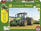Schmidt John Deere Tractor With Twin Tyres Jigsaw (100 Pieces) Siku Model Trac