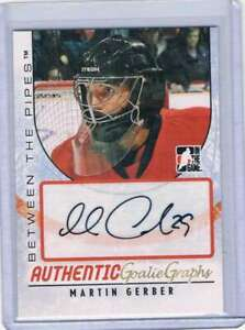 2007-08-ITG-Between-The-Pipes-Autographs-AMG-Martin-Gerber-NM-MT-SP-Auto