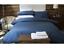 Belledorm-540-hilos-de-algodon-egipcio-Saten-a-Rayas-Ropa-de-cama-en-Azul-Marino miniatura 1