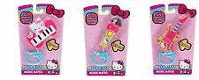 Hello Kitty Music Mates Full Set Of 3 Keychain Clip-on's Musical Sounds New