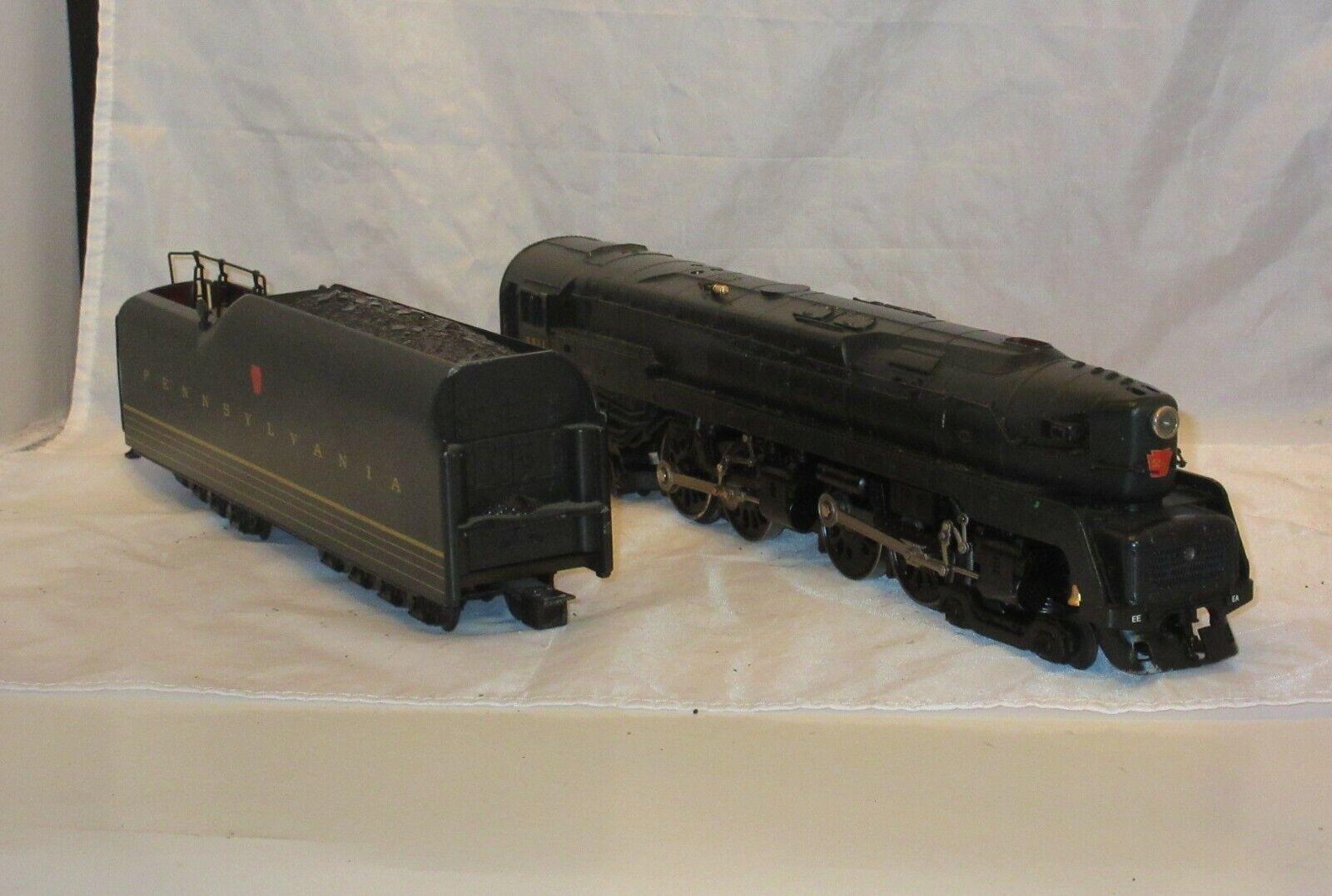 Lionel Pennsylvania 5511 o calibre 4-4-4-4 Locomotora de vapor y ténder