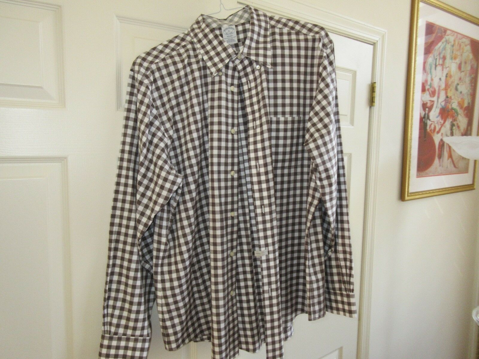 Brooks Brothers, Size XL , Men's Long Sleeve Shirt , 10