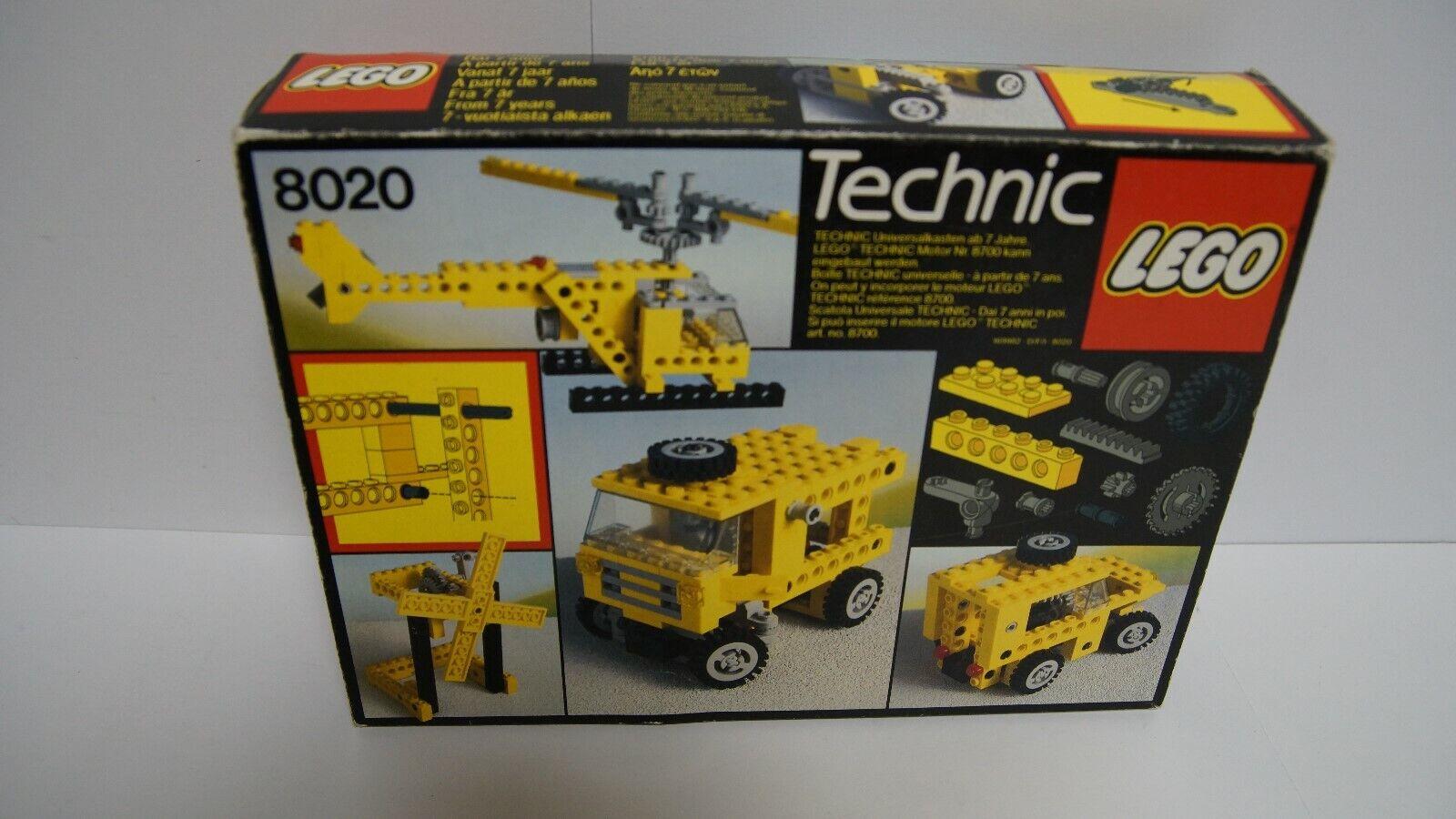 Lego 8020 -Technik - Universal Building Set - RARITÄT - von 1984