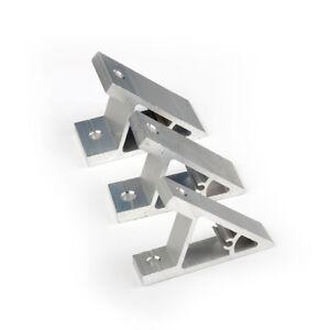 Image Is Loading Cj45a Aluminum Corner 45 Degree Joint Bracket T