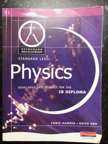 1 of 1 - Pearson Baccalaureate: Standard Level Physics for the IB Diploma by Keith...