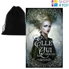 ELLE QUI TAROT ORACLE CARDS DECK MELANIE DELON ARWEN LYNCH US GAMES SYSTEMS BAG