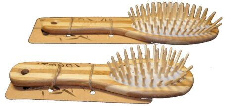 MiEco BAMBOO SMALL Hair Brush FREE POST