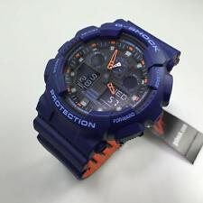 Casio G-Shock Blue Digital Analog Watch GA100L-2A
