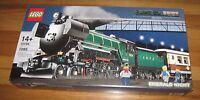 Lego Sealed 10194 Emerald Night Train Set Creator Engine Tender Car Retired