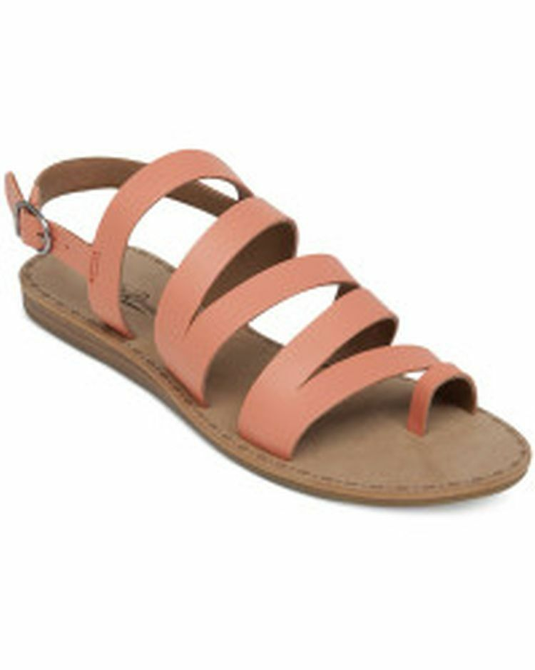 Lucky Brand Fairfaxx Corail Sandales En Cuir femmes Taille 10 m