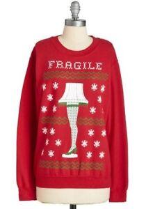 Image Is Loading A Christmas Story Leg Lamp Fragile Ugly Christmas