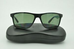 3eb7f8201d Ray Ban RB 4234 Sunglasses 601 9A Black   Green Classic Polarized ...