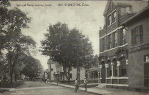 Southington-CT-National-Bank-c1910-Postcard-jrf
