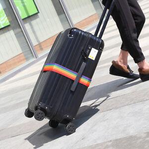 Travel-Luggage-Suitcase-PASSWORD-Secure-LOCK-Durable-Nylon-Packing-Strap-Belt-GW