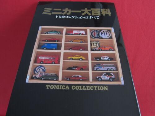 Tomica Minicar Daihyakka encyclopedia art book / All of Tomica Collection
