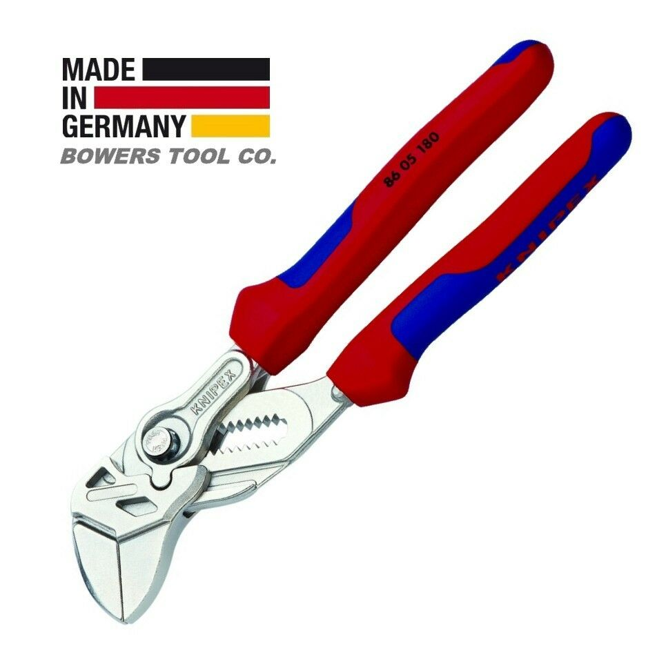 Knipex 7-1 4  Pliers Wrench 8605180 Adjustable Wrench w Comfort Grips