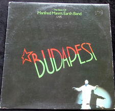 MANFRED MANN'S EARTH BAND Budapest LP