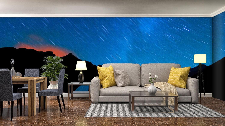 3D Blau Sky Night 933 Wallpaper Mural Wall Print Print Print Wall Wallpaper Murals US Summer a433cc