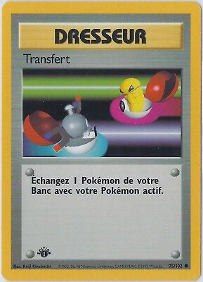 ROUCOOL// PIDGEY 57//102 French Base ⎜1st Edition⎜ Common Mint Buy 4 Get 35/% Off!