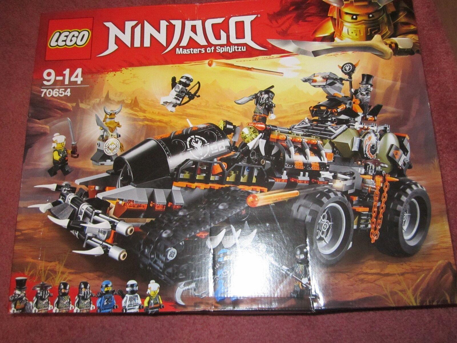 Lego Ninjago Dieselnaut (70654) DAMAGED BOX - SEE PHOTOS - NEW SEALED