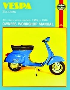 Vespa rally 200 piaggio operation and maintenance manual 44.