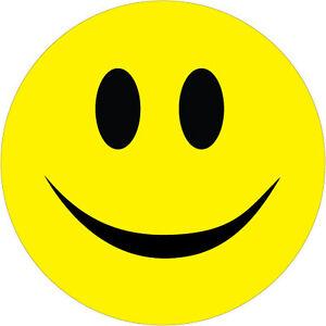 Details About Smiley Face Sticker Car Bumper Vinyl Top Quality Sticker 10 Cm X 10 Cm
