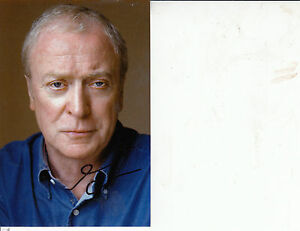SIR MICHAEL CAINE Signed 6 x 4 Photo THE BATTLE OF BRITAIN amp THE ITALIAN JOB - <span itemprop='availableAtOrFrom'>Halesworth, United Kingdom</span> - SIR MICHAEL CAINE Signed 6 x 4 Photo THE BATTLE OF BRITAIN amp THE ITALIAN JOB - Halesworth, United Kingdom