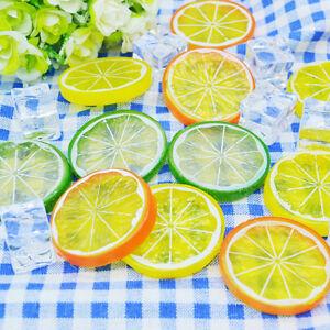 5x-kuenstliche-Frucht-Zitrone-Scrapbooking-Blumen-fuer-DIY-Hochzeit-Baum-Dekor-ZP
